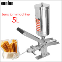 XEOLEO Churros filler Churros filling machine 5L Jam filling device Commercial Stainless steel Automatic Fritter filling machine|Waffle Maker Parts| |  -