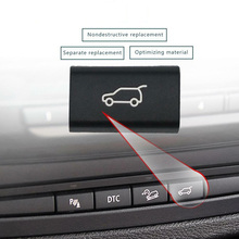 1xTailgate Rear Trunk Switch Button Cover For BMW X5 E70 2006-2013/X6 E71 08-14