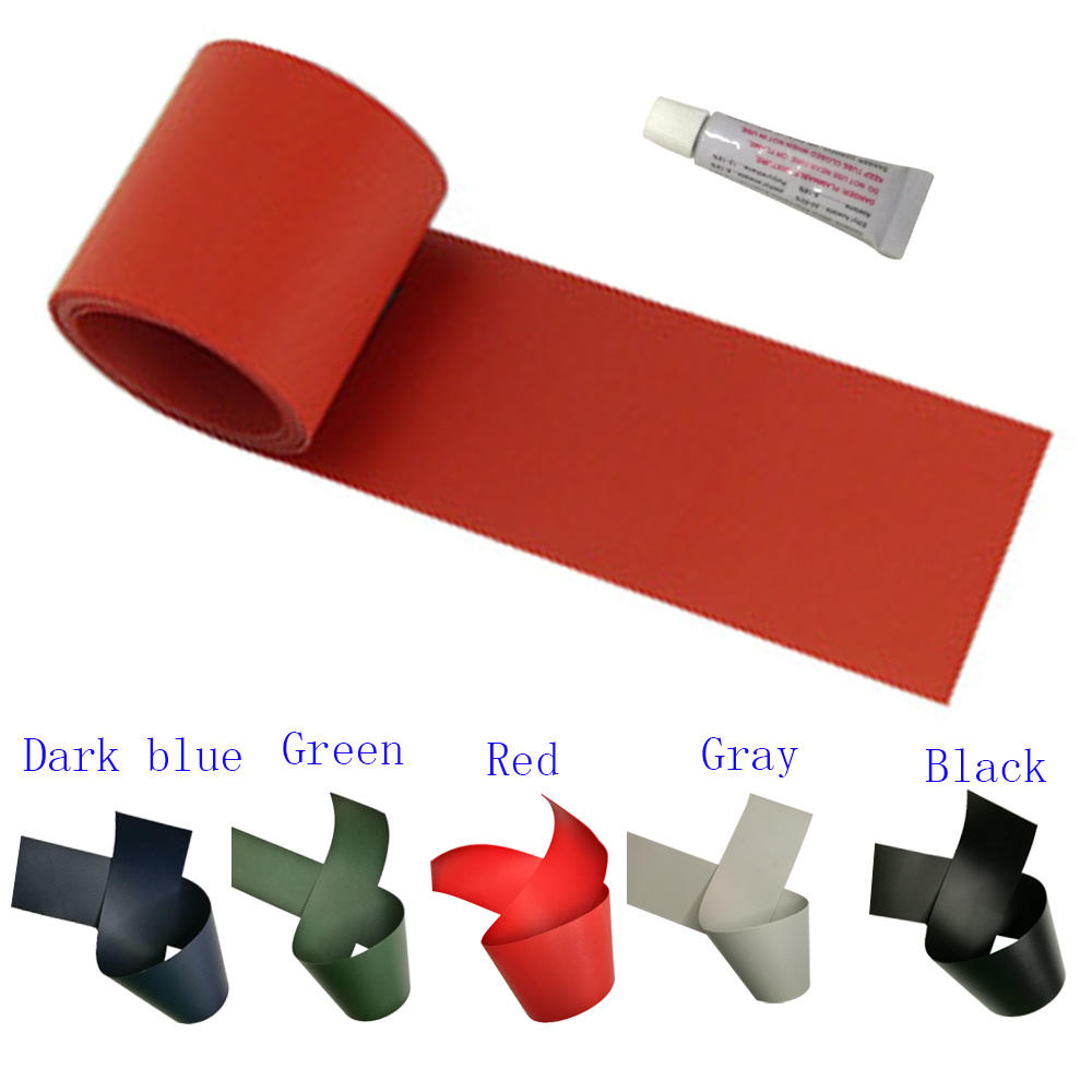 50*1000mm Inflatable Boats Kayak Repair Patch Special Air Bed Dinghy Damaged Leaking Hole PVC Repair Patch Kit Glued