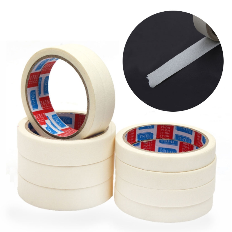 Masking Tape 15/18/24mm Single Side Tape Adhesive Crepe Paper For Oil Painting PXPA