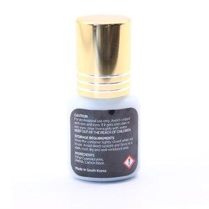 Image 3 - 送料無料新着オリジナル韓国 ib ibeauty スーパープラスのためのまつげエクステンション黒のりゴールドキャップ 5 ミリリットルまつげ接着剤