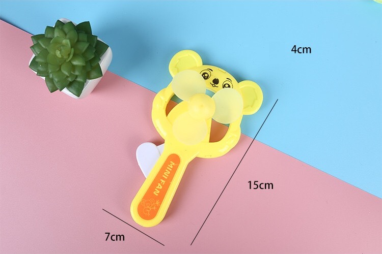 Summer Cooling Fan Portable Travel Personal Mini Fan Cute Handheld Air Cooler Office Hand held Personal Fans in Cartoon Hats from Toys Hobbies