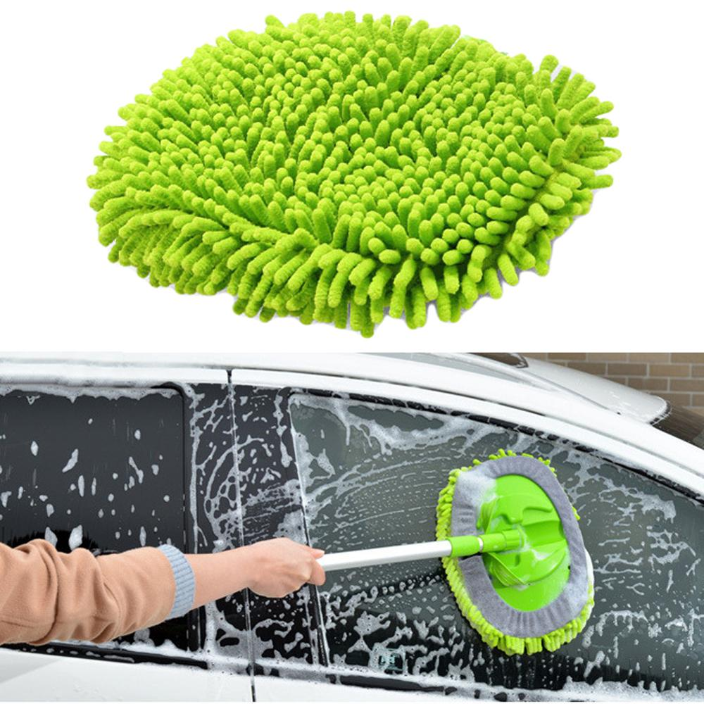 SALE Car 360 Degree Spin Wet Mop Head Microfiber Auto Cleaning Mop Head Refill For Car And Home Wholesale Quick Delivery CSV