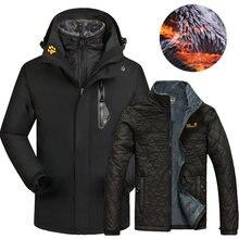 Зимняя Лыжная куртка для мужчин и женщин 2020 уличные водонепроницаемые