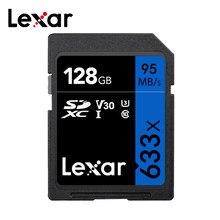 Lexar – carte SD 633x pour appareil photo numérique SLR/HD, 64 go 128 go 32 go 256 go 512 go, classe 10 jusqu'à 95 mo/s, carte mémoire Flash
