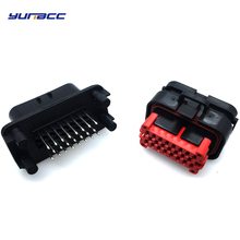 цена 1set 23pins waterproof Tyco AMP ECU Connector Automotive Male And Female Plug 776228-1 770680-1 онлайн в 2017 году