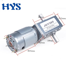 DC Motor 12 V 24V Volt Gear Double Shaft 14mm Electric