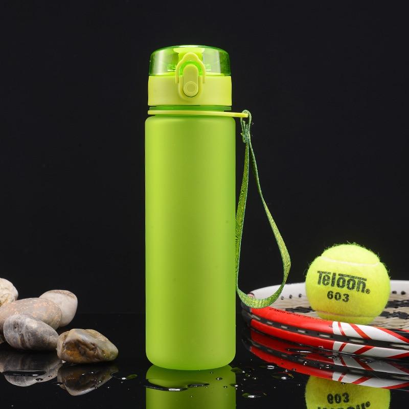 Kettle 600ML plastic water dispenser travel student outdoor sports fitness school portable leak-proof cup drinking water bottle
