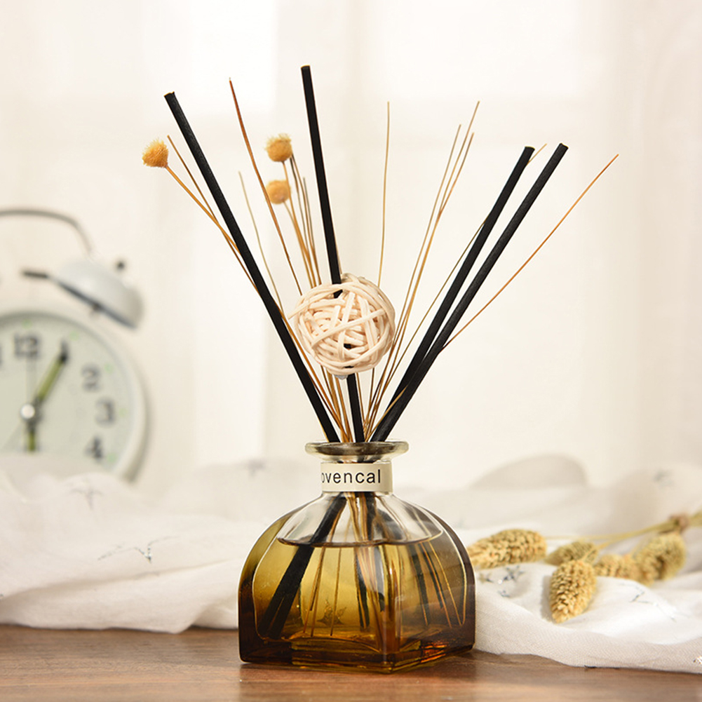 Office Rattan Sticks Living Room Aroma Diffuser Set Fragrance No Fire Aromatherapy Purifying Air Essential Oil Car Scent Home