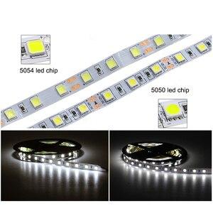 Image 3 - חדש הגיע בהיר LED רצועת 5054 DC12V גמיש LED אור & RGB LED רצועת 5050, 5054 הוא השדרוג של 5050.