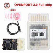 Completo chip tactrix openport 2.0 ecu flash porta aberta 2.0 para t-oyo-ta para jlr chip tuning obd2 carro diagnóstico scanner automático