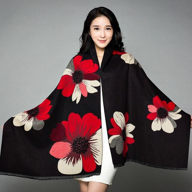 2019-New-Shawl-Women-s-Thickening-Warm-Pashmina-Cashmere-Scarf-Autumn-winter-Oversize-Soft-scarf-Shawl (11)
