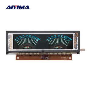 AIYIMA VFD Fluorescent Display Pointer VU Meter Level Indicator Music Audio Spectrum AC220V Transformer For Speaker Amplifiers