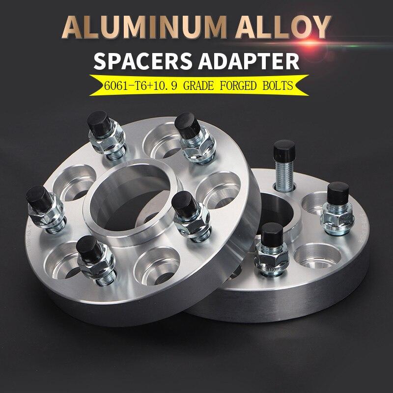 4 Wheel Spacers Adapters fits Honda Civic Accord 5 lug 5x114.3
