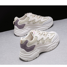 Woman Fashion Shoes 2019 Autumn New Platform Shoes Women Casual Sports Shoes Women Fashion Trend Wild  Increase Breathable Shoes