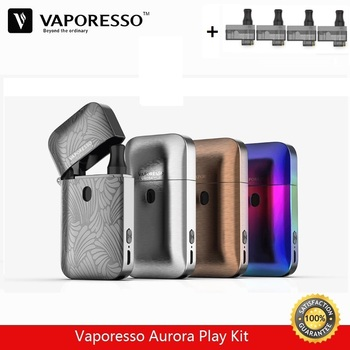 На складзе! Запальнічка Vaporesso Aurora Play камплект 2 мл Vape бак з убудаванай батарэяй E-цыгарэты 650mAh ўбудаваным акумулятарам