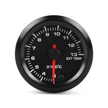 Автомобильный Универсальный термометр выхлопного газа 52 мм указатель гоночный Авто модификация автомобиля запчасти Инструмент датчик температуры NJ88