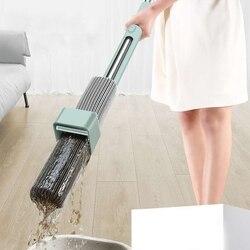 Nie prać ręcznie płaski mop głowica obrotowa magiczny mop silne wchłanianie wody Cleaner czyszczenie gospodarstwa domowego automatyczne odwodnienie podłogi w Mopy od Dom i ogród na