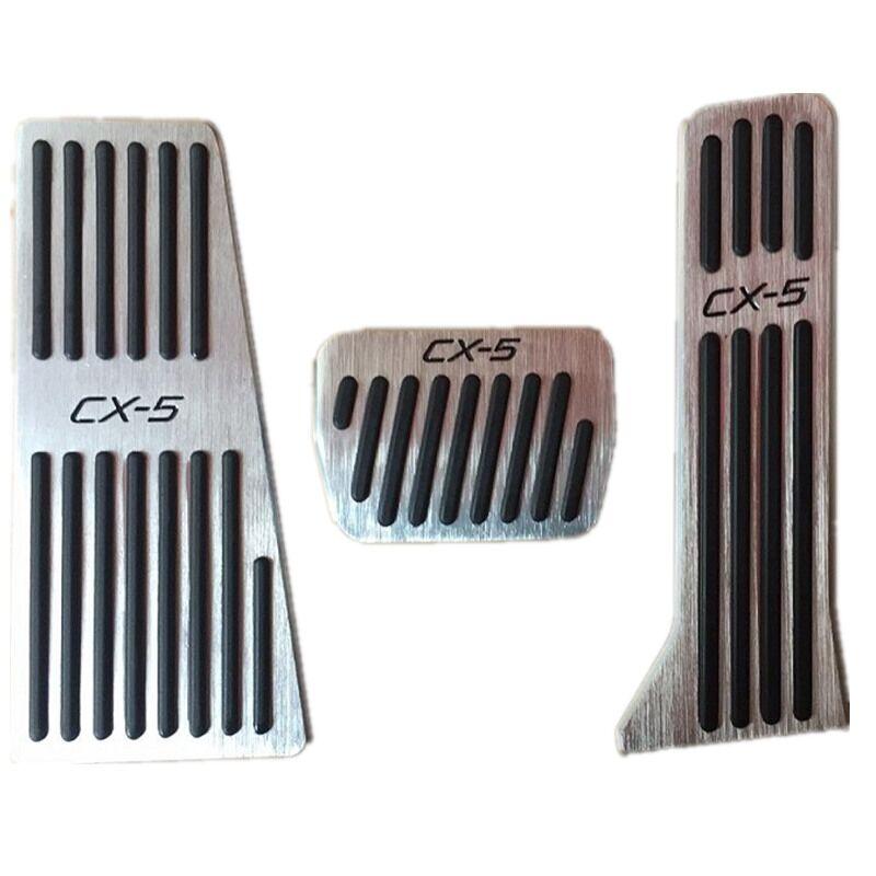 自動フットレストガスアクセルペダル、ブレーキマツダ cx 5 CX-5 2012-2018 左手ドライブ、カーアクセサリー