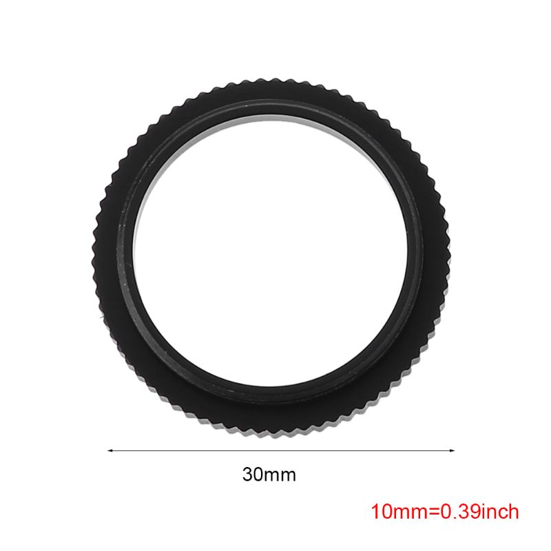 5MM Metal C to CS Mount Lens Adapter Converter Ring Extension Tube for CCTV Security Camera Accessories Q1QF