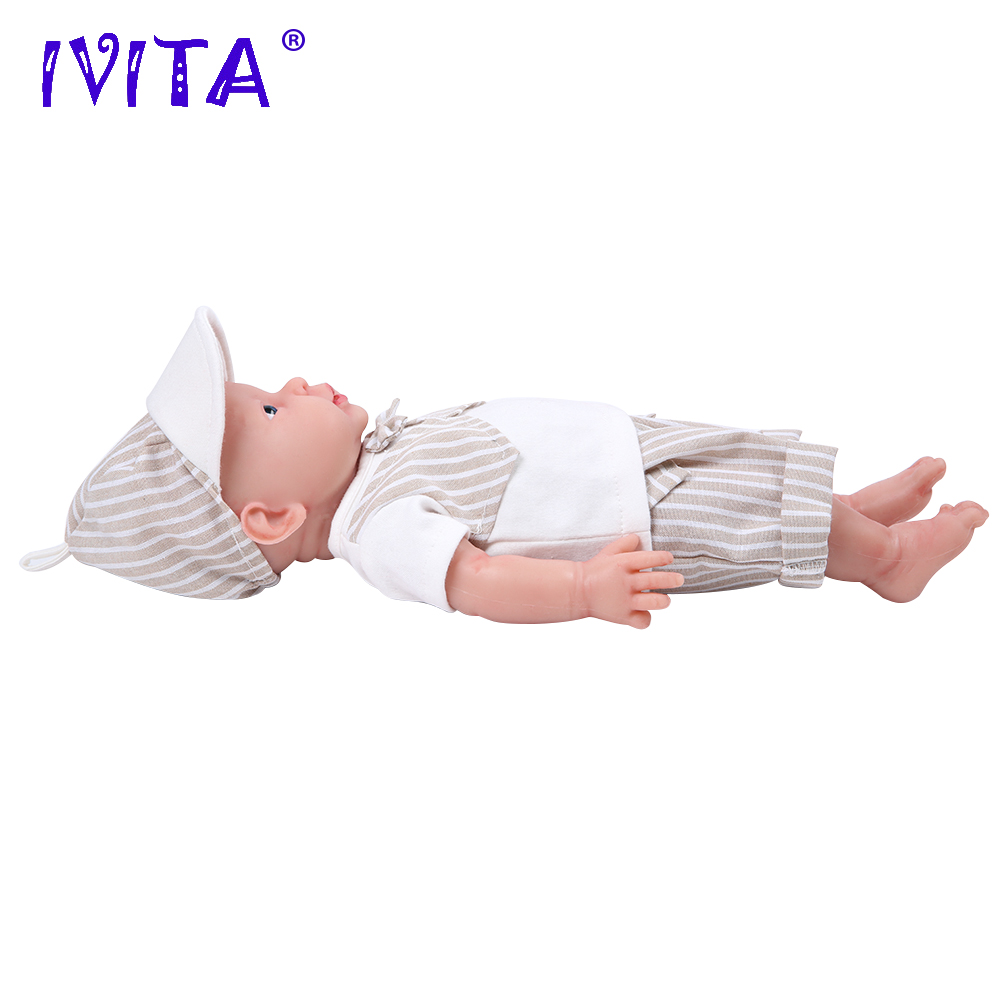 Oyuncaklar ve Hobi Ürünleri'ten Bebekler'de IVITA WB1503 41cm (16 inç) 2kg silikon yeniden doğmuş bebek bebek gözler açık canlı gerçekçi yenidoğan çocuk bebekler çocuk oyuncakları kızlar için'da  Grup 2