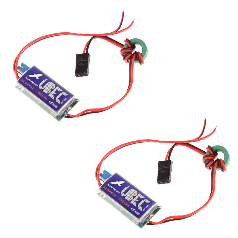 2pcs 3A Switch Mode UBEC Output 5V 6V max 5A Laagste RF Noise (UBEC, 3A UBEC)