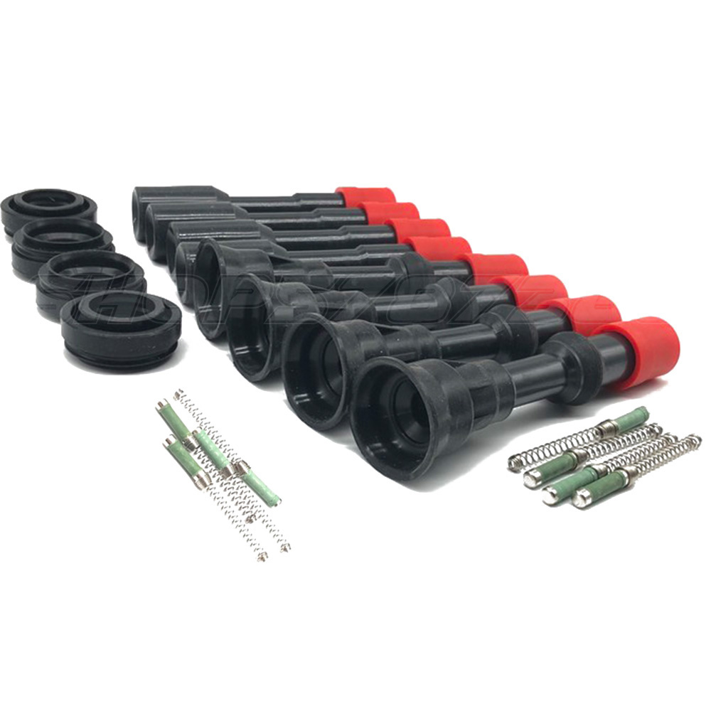 4PCS/8PCS 30520PWA003 <font><b>30521PWA003</b></font> Ignition Coil Silicone Rubber Front Row And Back Row For Hon da Fit J azz C ivic 1.3L image