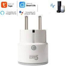 Смарт розетка Coolcam с поддержкой Amazon Alexa Google Home, Wi Fi, таймером