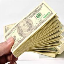 Servilletas desechables para Decoración de cumpleaños de fiesta de boda, paquete de 10 servilletas de papel de dinero de 100 $, nuestro billete de dólar, regalo delicado, 10 Uds.