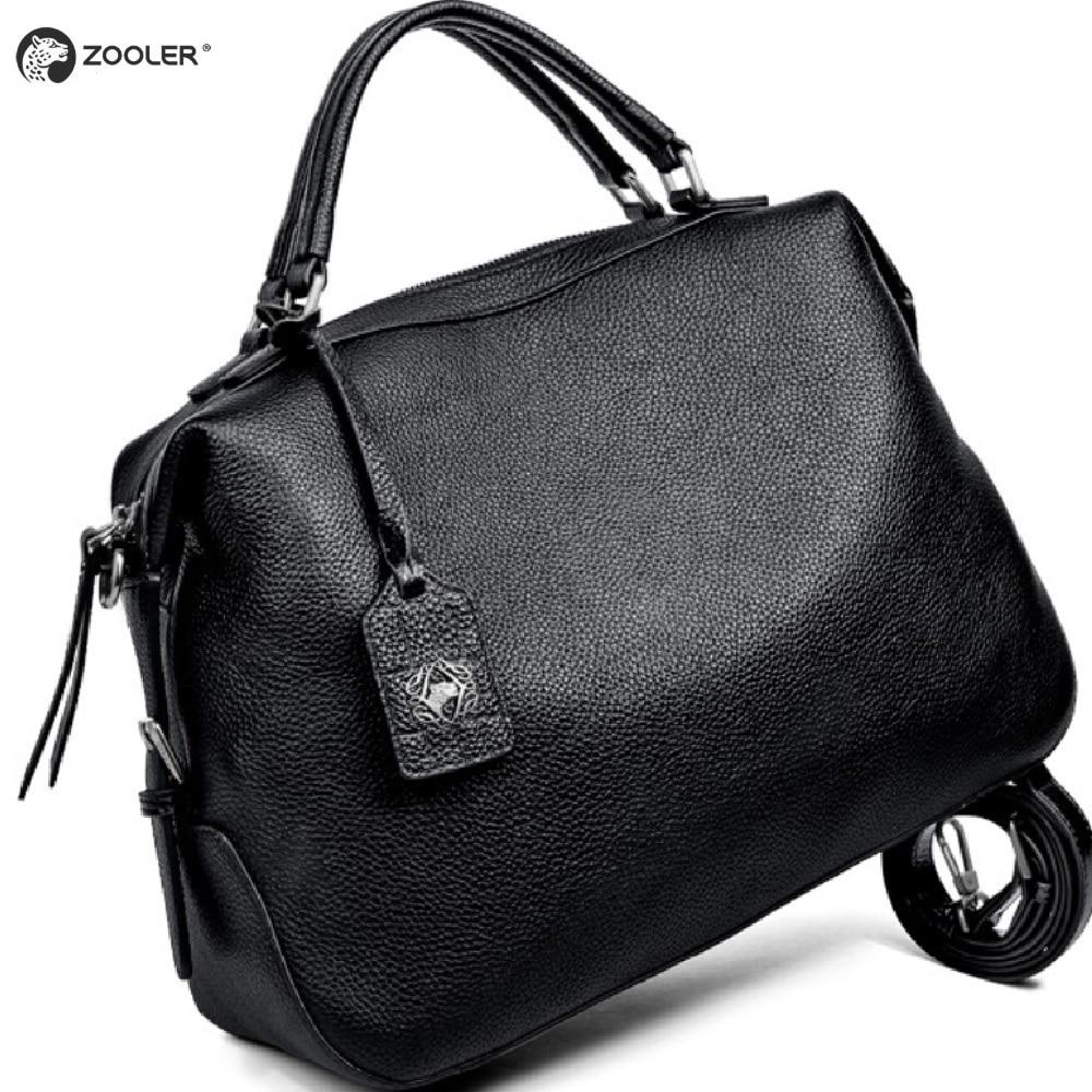 ZOOLER 2019 conçu doux sacs en cuir véritable femmes sacs à main en cuir marques de luxe sac à bandoulière sac fourre-tout chaud bolsa feminina