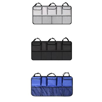Car Trunk Storage Bag Suv Car Rear Seat Back Hanging Bag Net Pocket Messy Storage Hanging Bags In-Car Supplies image
