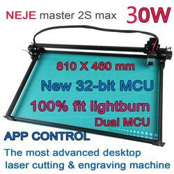 NEJE Master 2s Max 30W Professional CNC Laser Engraving Cutting Machine Lightburn,laserGRBL,  Bluetooth App Control