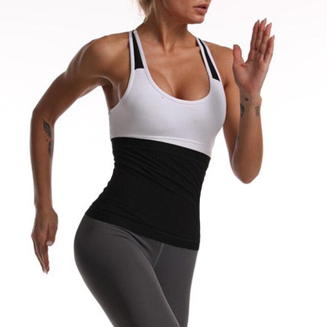 Slimming Shapewear Shirt Sweat Women Fitness Body Shaper Vest Sports Yoga Top Slimming Sweat Belly Belt Body Shaper 1