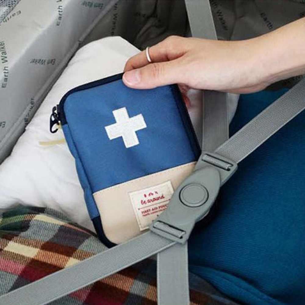 حار السفر الطوارئ الطب حقيبة المحمولة حقيبة اسعافات أولية صناديق العدة للطوارئ حزمة في الهواء الطلق حبة بقاء المنظم لوازم السفر
