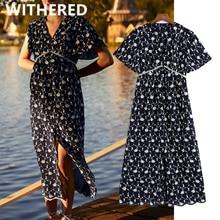 Withered vestidos de fiesta de noche summer dress women indie folk retro embroid