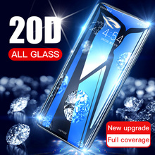 20D Full Curved Tempered Glass For Xiaomi Redmi Note 6 7 8 Pro Screen Protector On Redmi 8 8A 7 7A K20 Pro Protective Film