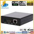 1080P 1080i HEVC H.265 H.264 HD HDMI видео потоковое кодирование IPTV HDMI к IP передатчик H264 с RTMP RTMPS M3U8 UDP ONVIF