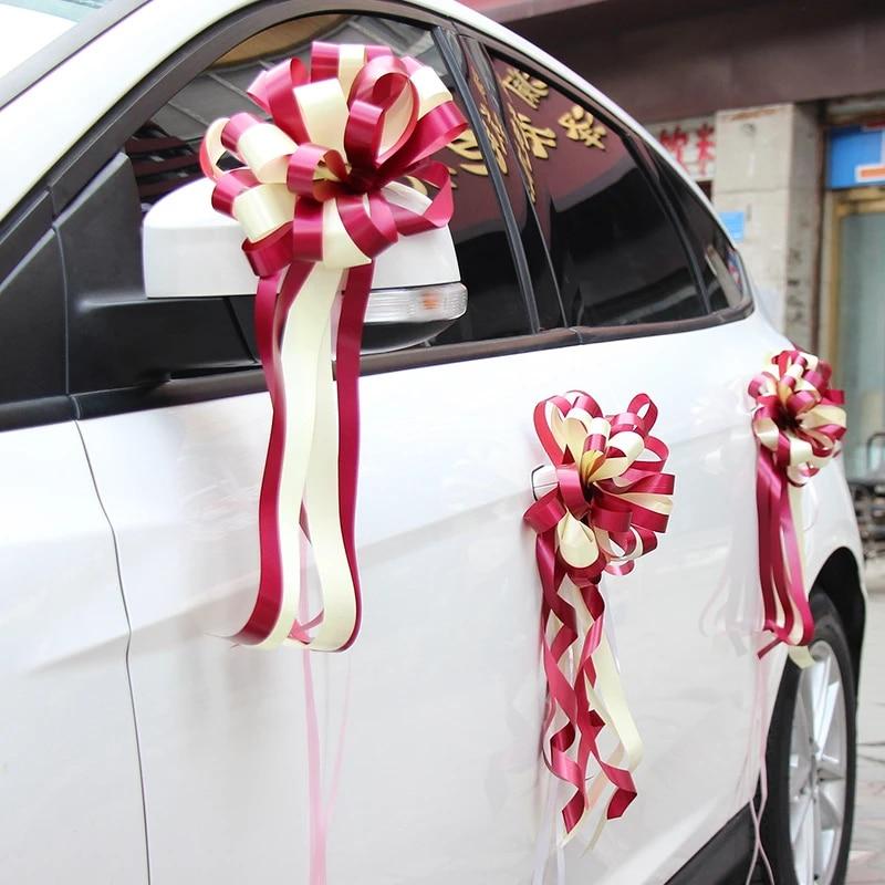Wedding Car Decoration With Flowers  from ae01.alicdn.com