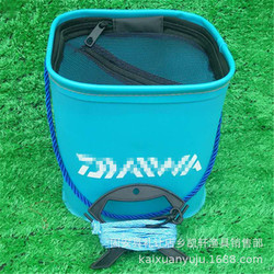 Wiadro wędkarskie wiadro Eva grube składane beczki huo yu tong Fish Tank sprzęt wędkarski małe akcesoria kosz na ryby wiadro wędkarskie Reflektory    -