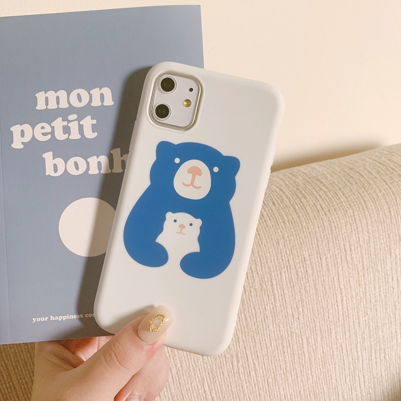 2020 INS Popular Soft Cartoon Animal Cute Bear Case For Iphone 11Pro 11 11Promax 6 6S 7 8 6S Plus 7Plus 8Plus X XS MAX XR X 8