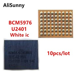 Image 1 - AliSunny 10 sztuk U2401 BCM5976 kontroler ekranu ic dla iPhone 6 i 6 Plus 6 P 6G biały Meson sterownik dotykowy układ scalony BCM5976C1KUB6G