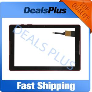 Replacement New Touch Screen Digitizer with frame Tempered Glass For Acer Iconia One 10 B3-A30 A6003 PB101JG3179-R4 Black White(China)