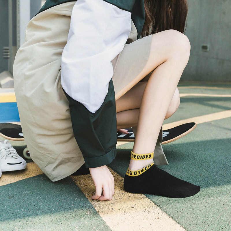1 زوج 5 ألوان مريحة الكورية نمط مشرق اللون المرأة القطن الحرير قصيرة الجوارب لينة شحن حجم رسائل