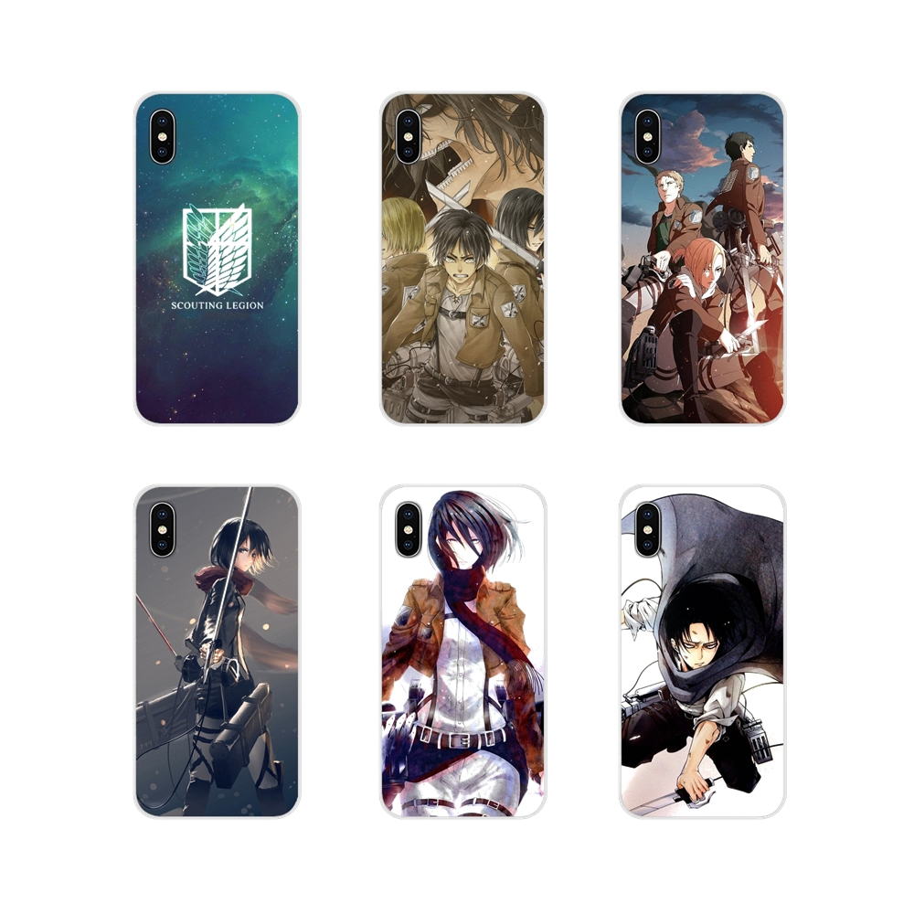 Attack on Titan Mikasa Ackerman Accessories Phone Case Covers For Huawei Mate Honor 4C 5C 5X 6X 7 7A 7C 8 9 10 8C 8X 20 Lite Pro