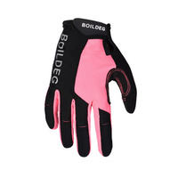 Non slip silicone breathable outdoor sun protection gloves touch screen long finger cycling gloves