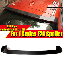 F20 Rear Roof Spoiler wing P-Style Fits For BMW 1 Series 118i 120i 128i 130i 135i Carbon Fiber rear trunk 12-in