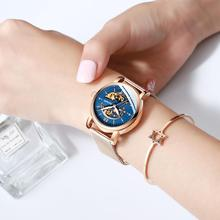 HAIQIN Gold lady watches top brand luxury wrist watch Ladies