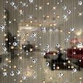 Mode Kristall glas perle Vorhang Indoor Hause Dekoration Luxus Hochzeit hintergrund Dekoration liefert
