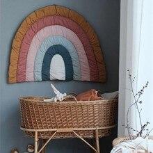 Criativo arco-íris tapete de jogo do bebê tapete rastejando crianças crianças playmat tapete