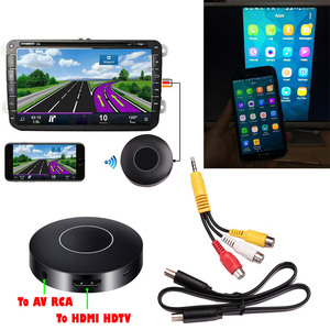 Image 1 - AllShare adaptador de teléfono a TV para coche, llave electrónica de espejo de pantalla DLNA Miracast Airplay, palo HDMI, inalámbrico, Wifi, AV, RCA